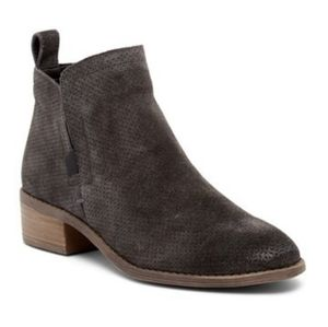 Dolce Vita Tivon Perforated Booties Size 8